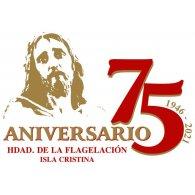 Logo of 75 ANIVERSARIO HDAD. FLAGELACIÓN