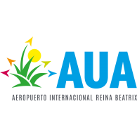 Logo of Aruba Airport AUA