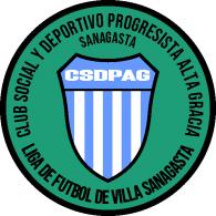 Logo of Club Social y Deportivo Progresista Alta Gracia de Villa Sanagasta La Rioja