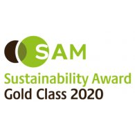 Logo of SAM Sustainability Gold Class 2020