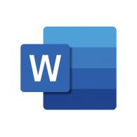 Logo of Word