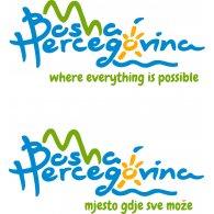Logo of bosnia tourist slogan
