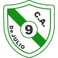 Logo of Club Atlético 9 de Julio de Paraje El Barreal Cruz del Eje Córdoba
