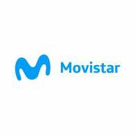 Logo of Movistar