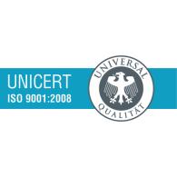 Logo of Unicert 9001 2008