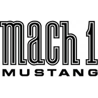 Logo of Mustang Mach 1