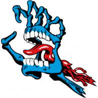 Logo of screaming hand