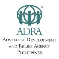 Logo of Adventist Development and Relief Agency Philippines (ADRA)