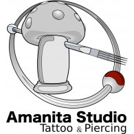 Logo of Amanita Studio | Tattoo & Piercing