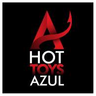Logo of Hot Toys Azul