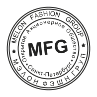 Logo of Melon Fashion Group Stamp