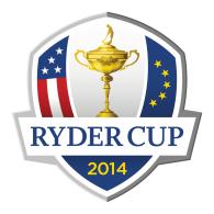 Logo of Ryder Cup 2014