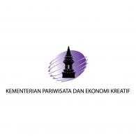 Logo of Kementrian Pariwisata dan Ekonomi Kreatif (Ministry of Tourism and Creative Economy)