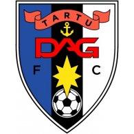 Logo of FC DAG Tartu (mid 90's logo)
