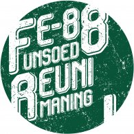 Logo of FE88 UNSOED REUNI MANING 2019