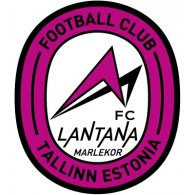 Logo of FC Lantana-Marlekor Tallinn (mid 90's logo)