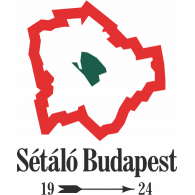 Logo of Sétáló Budapest