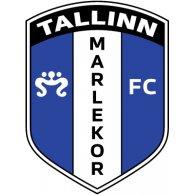 Logo of FC Marlekor Tallinn (mid 90's logo)