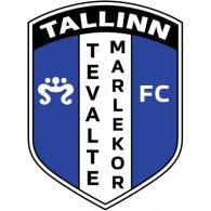 Logo of FC Tevalte-Marlekor Tallinn (mid 90's logo)