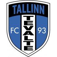 Logo of FC Tevalte Tallinn (early 90's logo)