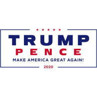 Logo of Trump Pence 2020