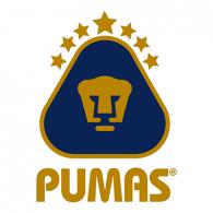 Logo of Pumas (azul y oro)
