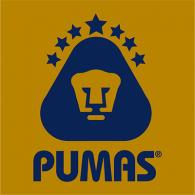 Logo of Pumas (dorado)