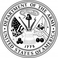 Logo of US Army Seal / Black & White