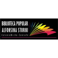 Logo of Biblioteca Popular Alfonsina Storni