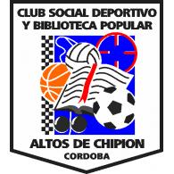 Logo of Club Social Deportivo y Biblioteca Popular Altos de Chipión Córdoba