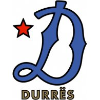 Logo of Dinamo Durrës (1950's logo)