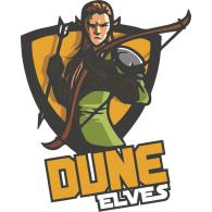 Logo of Dune Elves Volleyball Fiji