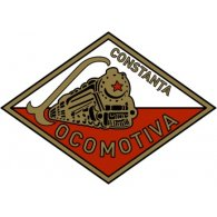 Logo of Locomotiva Constanța (1950's logo)