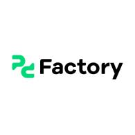 Logo of pc Factory • Tecnología para ti