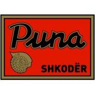Logo of Puna Shkodër (1950's logo)