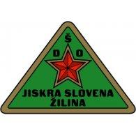 Logo of DŠO Jiskra Slovena Žilina (1950's logo)