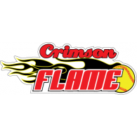 Logo of Crimson Flame Softball