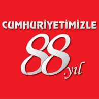 Logo of Turkiye cumhuriyetinin 88. yili
