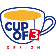 Logo of Cup of 3 Design