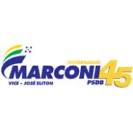 Logo of Campanha Marconi Perillo 2010