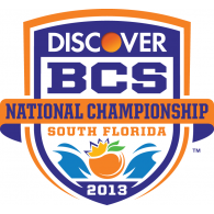 Logo of 2013 Discover BCS National Championship Game