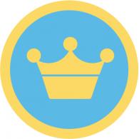 Logo of Foursquare