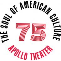 Logo of Apollo Theater 75th Anniversary