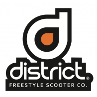 Logo of District Scooters