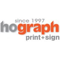 Logo of hograph print+sign