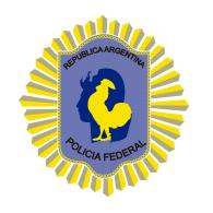 Logo of Escudo Institucional Policia Federal Argentina