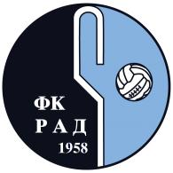 Logo of FK Rad Beograd
