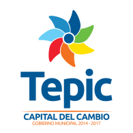 Logo of Tepic - Capital del Cambio