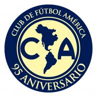 Logo of Club América 95 aniversario
