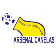 Logo of Associação Desportiva Arsenal de Canelas